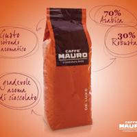 Caffé Mauro De Lux 1kg Bohnen